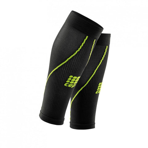 CEP Calf Guard Compression (Black/Green)