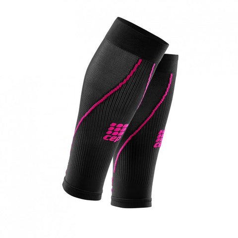 CEP Womens Calf Guard Compression (Black/Pink)