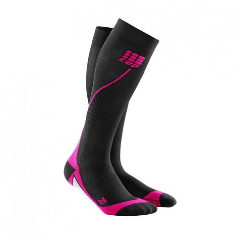 CEP Womens Run Socks 2.0   (Black/Pink)