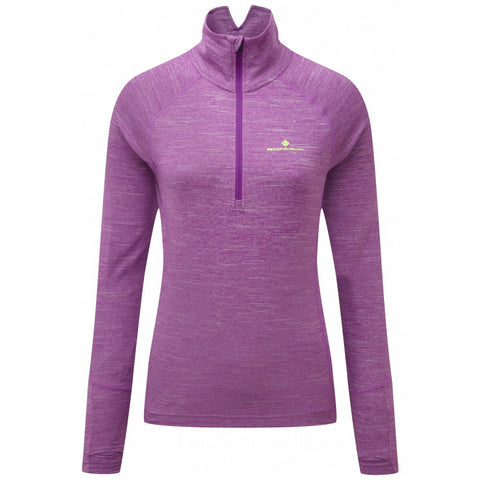 Ronhill Womens Stride Thermal L/S Zip