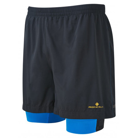"Ronhill Mens Stride Twin 5"" Short"