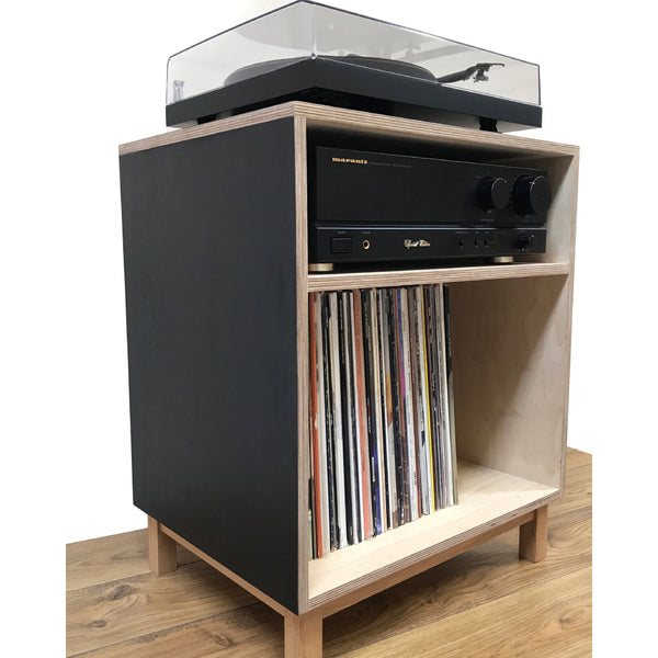 Turntable Console | Birch Plywood
