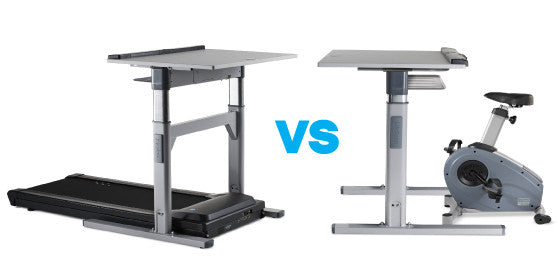 The Treadmill Desk Vs The Bike Desk