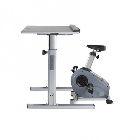 LifeSpan C3 Bike Desk with DT5 Manual Height Adjustable desk