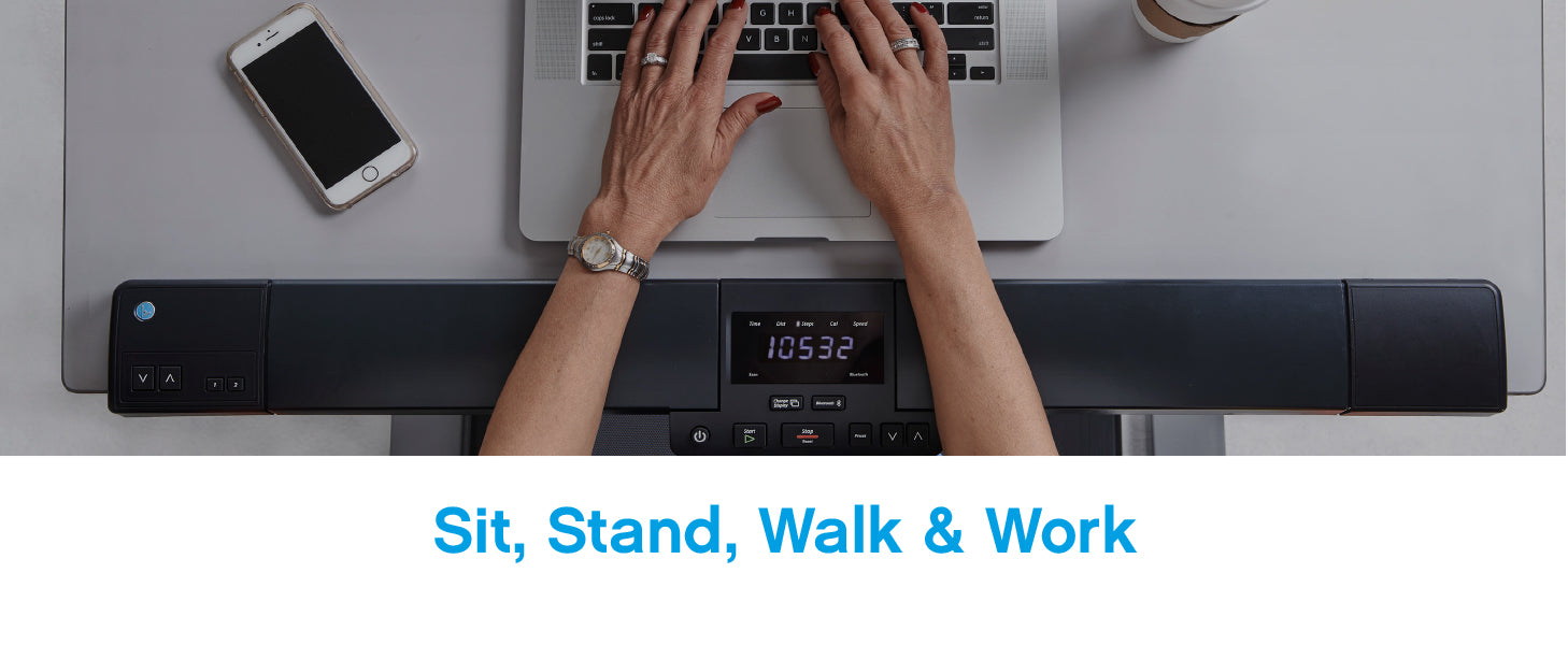 Sit, stand, walk and work