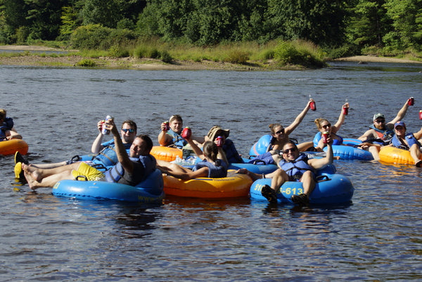 Compas Life Adventure Group: Hudson river tubing