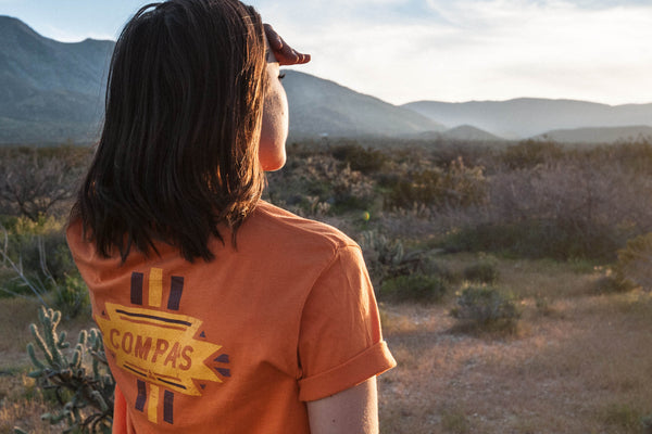 Compas Life New Mexico Abandoned Enchantment SP17 Graphic Tees Adventure Apparel