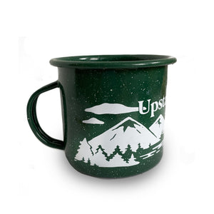 Upstate of Mind Mountain Range Enamel Mug
