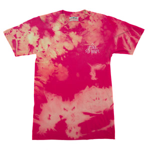Upstate of Mind Tee - Bleached Out Red Sherbert