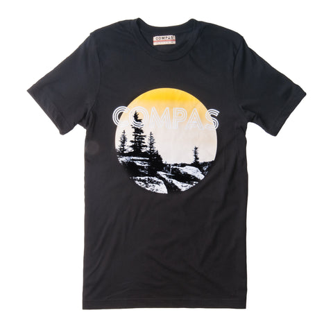 Retro Sunset Tee