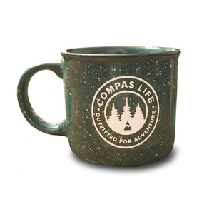Upstate of Mind Campfire Ceramic Mug