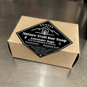 Nature Trail Bar Soap - Lavender Sage