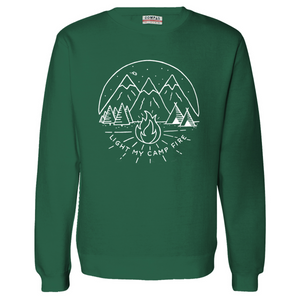 Light My Campfire Crewneck Fleece