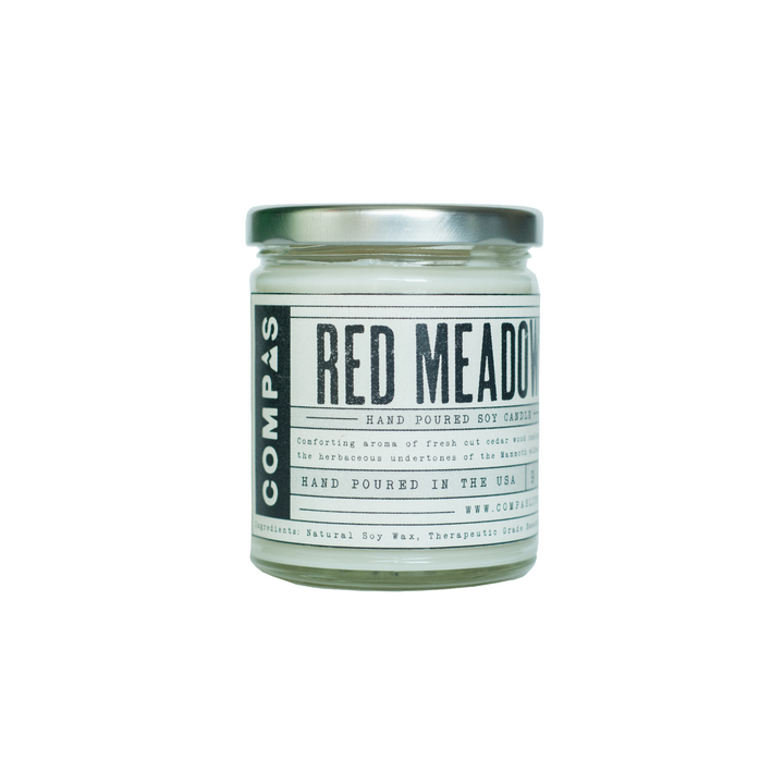Red Meadows Candle