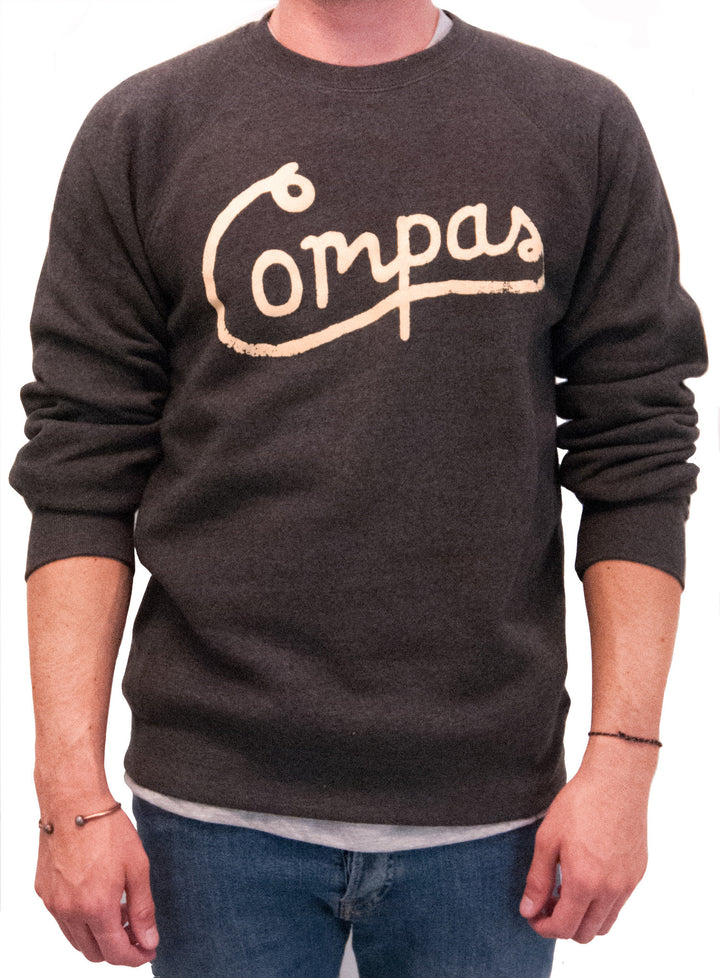 Vintage Script Crewneck Fleece