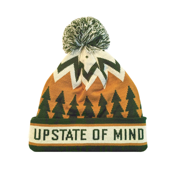 Upstate of Mind Retro Pom Beanie