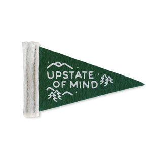 Upstate of Mind Mini Pennant
