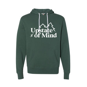 Upstate of Mind - Pine Tree Pullover - Forest Heather
