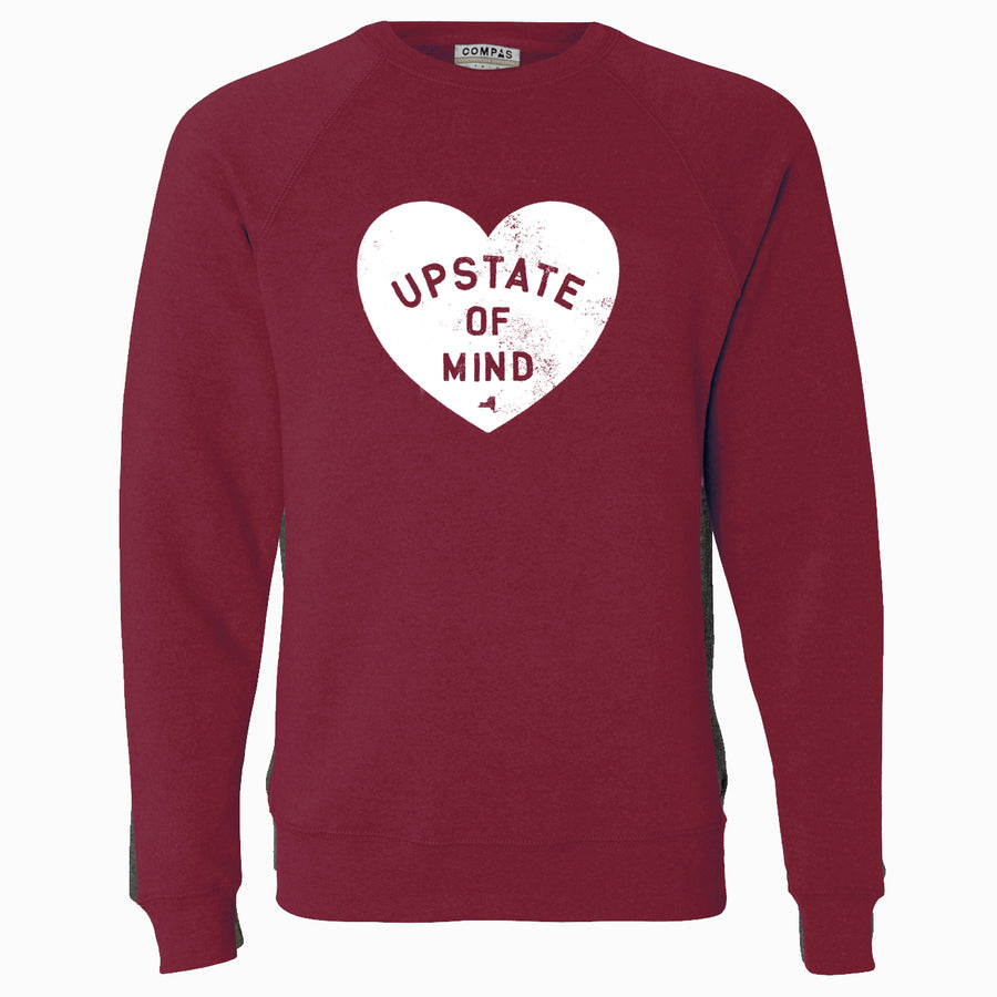 I Heart Upstate of Mind Crew Neck