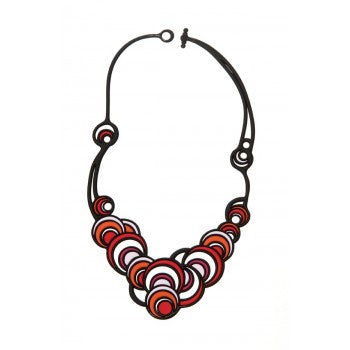 SS17   Red round Jewelry Eco-Friendly Necklace