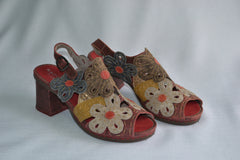 SKA SHOES FLOWER