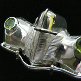 Nice Headlights! 1940 Classic Car Front Stering Silver Pin