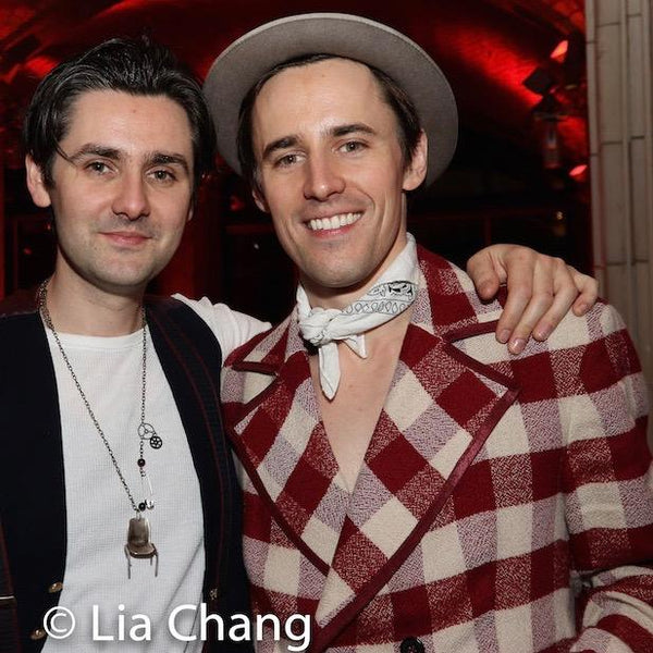 "Zane and Reeve Carney at Hadestown Opening Night Party, New York City. Sterling Silver Chair Charm. Approximately 2-1/2"" Tall , 1-1/2"" Wide and 1"" in Depth.Handmade to order, and hand signed. Made in America, with love and care."