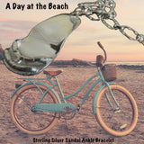 """A Day at the Beach"" Sandal Ankle Bracelet"