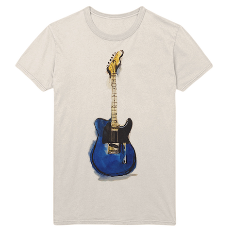ZC Blue Tele Watercolor T-Shirt
