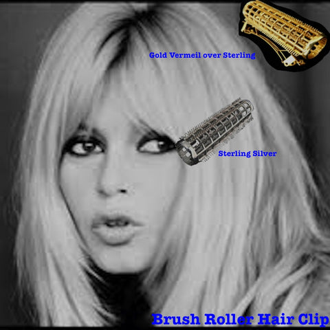 Brush Roller Hair Clip