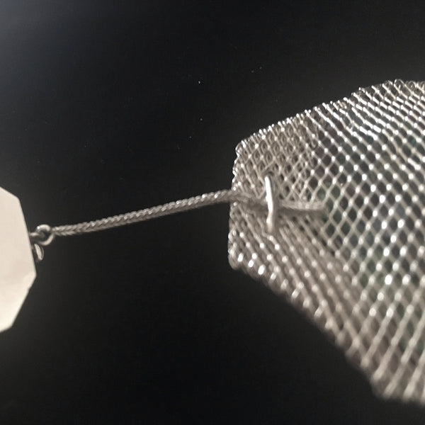 """Crystal"" Tea Bag Pendant"