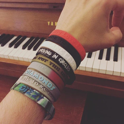 ZC Lyric Wristbands