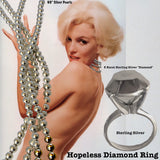 """Hopeless"" Diamond Ring"