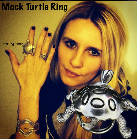 Mock Turtle Cocktail Ring