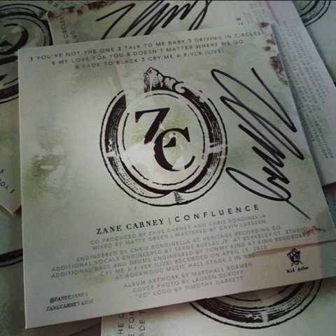 ZC SIGNED CD - Confluence
