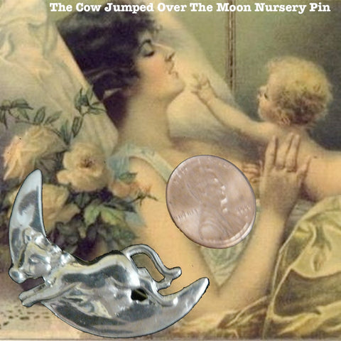 The Cow Jumped Over the Moon Pendant