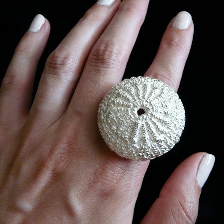 Braided Dome Cocktail Ring (Sea Urchin)