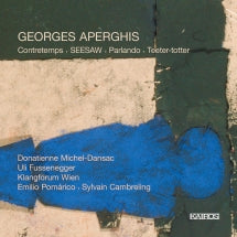 Georges Aperghis: Contretemps (CD)