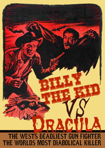 Billy The Kid Vs. Dracula (DVD)