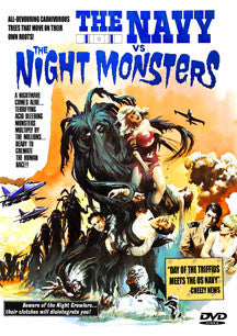 Navy VS The Night Monsters (DVD)
