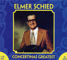 Elmer Schied - Concertinas Greatest (CD)