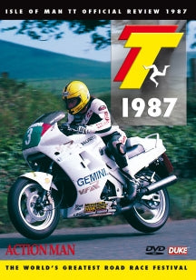 1987 Isle Of Man TT Review: Action Man (DVD)