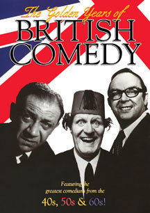 The Golden Years Of British Comedy (DVD)