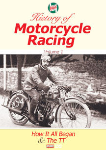 Castrol History Of Motorcycle Racing Vol 1 (DVD)