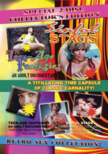 Teen-age Fantasies/Sinful Stags Double Disc (DVD)