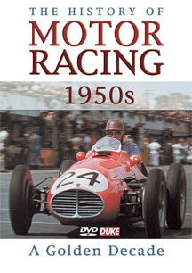 History Of Motor Racing In 1950s (DVD)