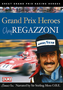 Clay Regazzoni Grand Prix Hero (DVD)