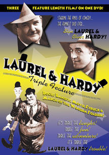 Laurel & Hardy Triple Feature (DVD)