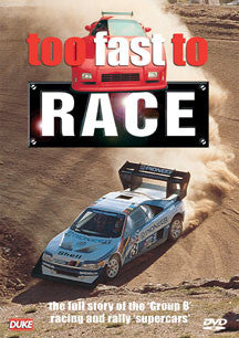 Too Fast To Race (DVD)