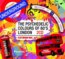 The Pyschedelic Colours Of 60's London (CD)